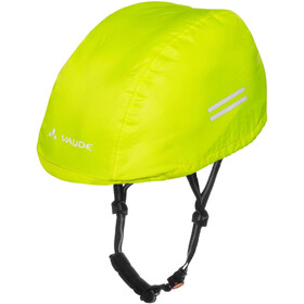 VAUDE Helm Regenhoes Kinderen, neon yellow